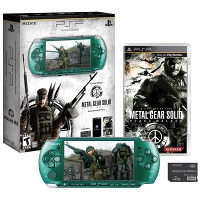 PSP Limited Edition Metal Gear Solid: Peace Walker